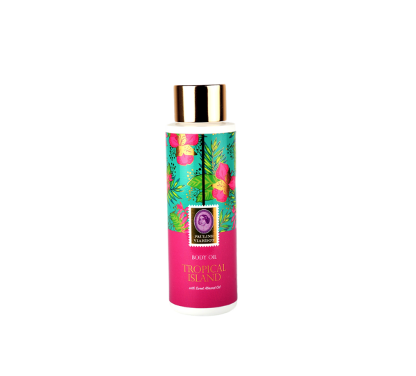 Tropical island bodyoil
